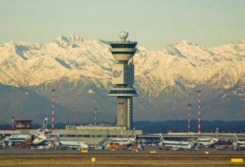 o aeroporto de Milão Malpensa: o esquema, partidas e chegadas, a localização no mapa e como chegar