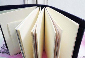 Wie man Notizen von einem Notebook mit ihren eigenen Händen machen