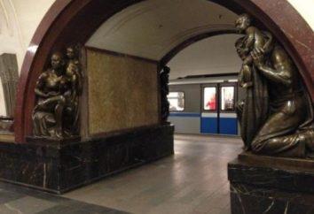 Ligne de métro Arbatsko-Pokrovskaya. D'est en nord-ouest