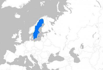 Schwedisch Klima. Das Klima und die Natur des Landes
