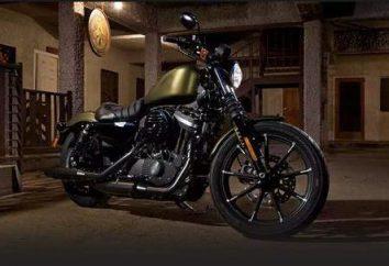 """motocicleta lendário """"Harley-Davidson"""" e sua história"""