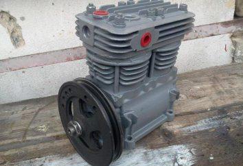 Sprężarka ZIL-130: cechy techniczne, konserwacja i naprawy