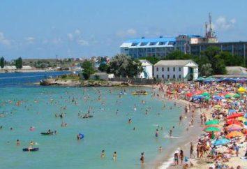 """Krim, das Schwarze Meer, eine Pension """"Black Sea"""": Adresse, Strand, Meer, Urlaub"""