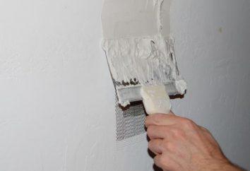 Comment mastic les murs de ses propres mains. Comment cloisons sèches mastic sous le papier peint