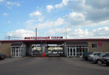 """Novokosinsky autobús y depósito de trolebuses, una subsidiaria de la dirección de Empresa Unitaria Estatal """"Mosgortrans"""", rodando lista de valores"""