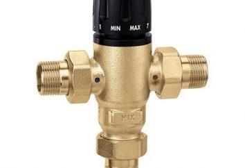La válvula de tres vías en el sistema de calefacción: la conexión y principio de funcionamiento