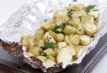 Ziemniaki w folii: szybkie i bardzo smaczne