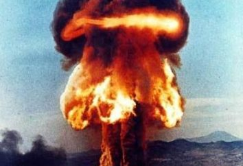 Kernexplosion in der Geschichte