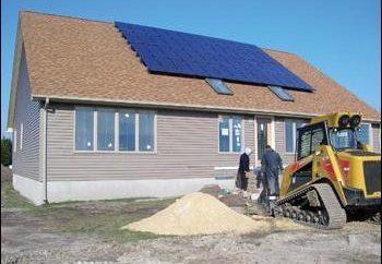 Der Aufbau einer Abschirmung Haus