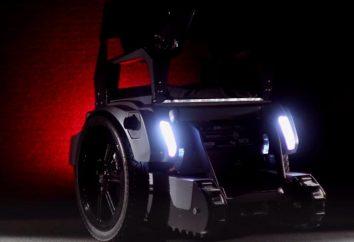 Gli studenti hanno sviluppato una sedia a rotelle elettrica, che lei supera scale