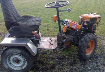 Traktor des Einachsschlepper. Als Zugmaschine des Gehens minitractor zu machen