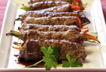 Come cucinare involtini di manzo ripieni di?
