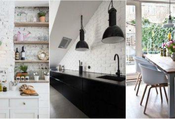 Mur de briques blanc – beauté rude de votre maison