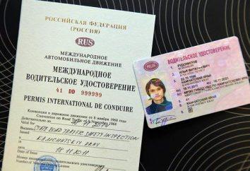 Obtener el derecho internacional en Moscú. una licencia de conducir internacional