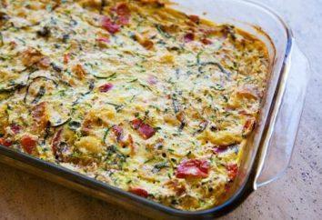 Trzy idealny przepis na obiad: jak przygotować zapiekanka z pomidorami i cukinią