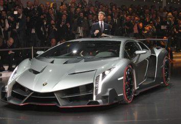 Lamborghini Veneno – jeden z najbardziej ekskluzywnych samochodów na świecie