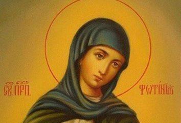 Photinia heilig: Symbol, das Gebet, Namenstag