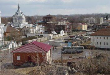 região Ryazan, Kadom. Pai Atanásio. Gentilmente Kadomsky Holy Monastery Virgin,