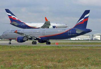 Note des compagnies aériennes russes pour la sécurité et d'autres paramètres