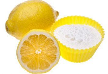 Como perder peso com a ajuda de refrigerante e limão? Soda com limão: comentários e resultados (fotos)