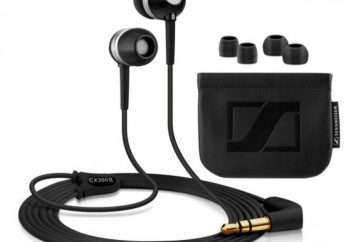 Słuchawki Sennheiser CX 300: dane techniczne, opinie, zdjęcia