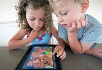 O que deve ser um computador tablet para crianças?