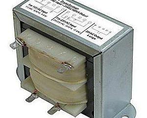 Il trasformatore 220 in 24 volt DC