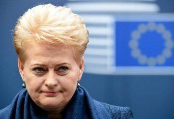 Président de Lituanie Dalia Grybauskaitė: biographie