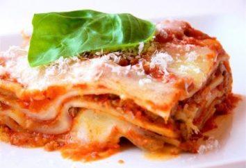 Lasagna Bolognese. Rezept für