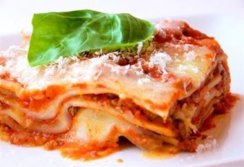 Lasagne to bolognese. Przepis na gotowanie