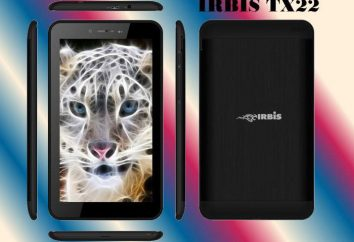 """Tablet """"Irbis TX 22"""": comentários, especificações, revisão"""