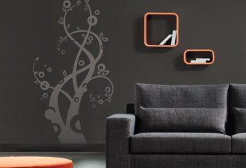 Jak zastosować wzory na ścianie
