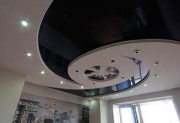 tetos de vários níveis: a elegância e simplicidade de instalação