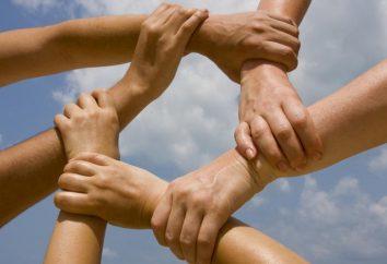 Typy pojęcie, funkcje, cechy, struktura i małych grup w psychologii społecznej