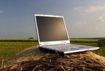 Internet nel villaggio: le migliori opzioni. Connessione Internet via satellite