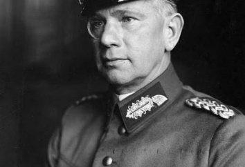 Generale Walter von Reichenau: biografia, successi e la storia