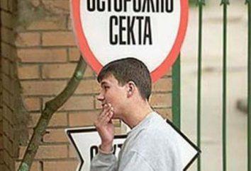"""Pojęcie, klasyfikacja i charakterystyka rozdz. Sekty w Rosji: """"Świadkowie Jehowy"""", """"Kościół Zjednoczeniowy"""""""