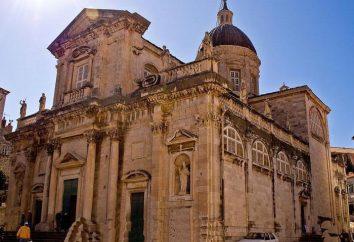 Katedra Wniebowstąpienia NMP. Dubrownik, Chorwacja
