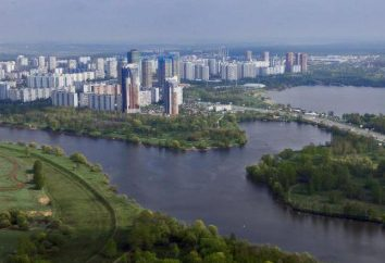 Où se trouve la rivière Ruza? Spécifications et description
