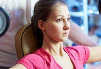 Ejercicios para el gimnasio para las niñas, a partir de la pérdida de peso al alivio
