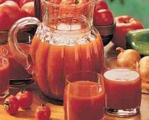 Le jus de tomate pour la perte de poids: régime avec avantages pour la santé