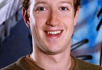 Creador de Facebook Mark Zuckerberg