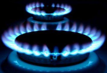 Proprietà e la densità del gas naturale