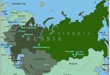 Plaine de Sibérie occidentale: caractéristique