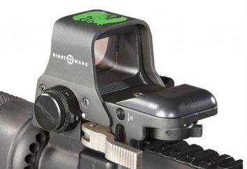 Mira Reflex 12 calibre: Tipos e comentários