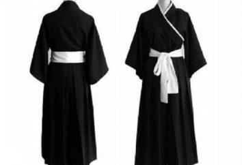 Costume Samurai: kroim kimono e hakama
