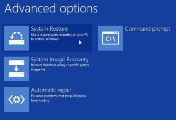 """Restauração do sistema """"windose 8"""" em um computador laptop e"""