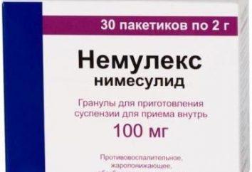 """Entzündungshemmend und schmerzlindernd """"Nemuleks"""": Gebrauchsanweisung"""