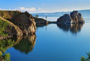 El lago más profundo en Eurasia: función Baikal