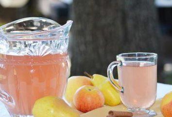 Pyszne kompot z jabłek i pomarańczy